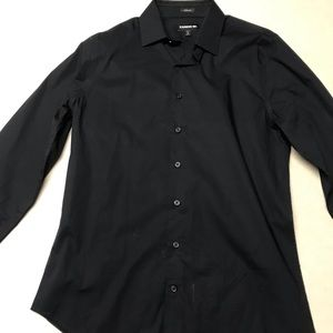 Express Shirts - Black Express 1MX Dress Shirt